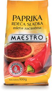 Paprika Maestro, sladka, 100g