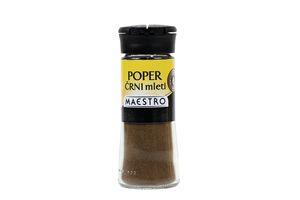 Poper Maestro, črni, mleti, 40g