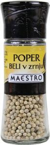 Poper Maestro, beli v zrnju, mlinček, 48g