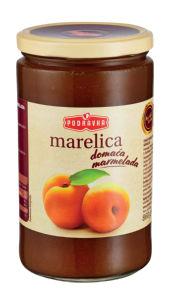 Marmelada domača Podravka marelična, 860g