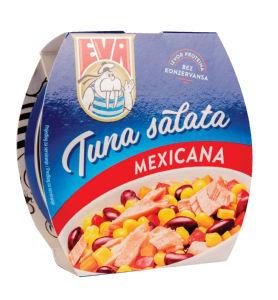 Solata tuna Eva, Mexicana, 160 g