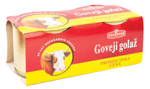 Golaž Podravka goveji, duo pack, 2 x 200 g