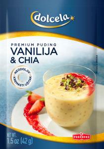 Puding Premium, vanilija s chia semeni, 42g
