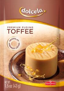 Puding Premium toffe, 43g