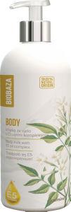Mleko za telo Biobaza, jasmin z E5 oljnim kompleksom, 400ml