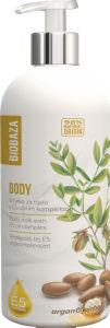 Mleko za telo Biobaza, argan z E oljnim komleksom, 400ml