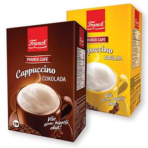 Cappuccino Franck, čokolada, vanilija