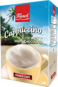 Cappuccino Franck, kokos, bela čokolada, 148g