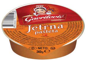 Jetrna pašteta Gavrilovič, 30g