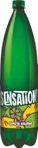 Pijača Sensation, gazirana, mineralna, limona kiw.,1,5l