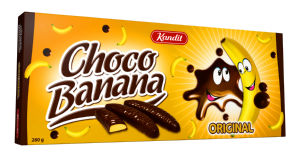 Desert choko banana Kandit, 280g