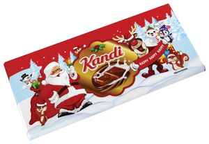 Čokolada mlečna Kandit Winter Milk, 80g
