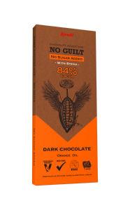 Čokolada Kandi temna brez dod.slad. pomaranča, 80g