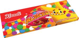 Čokolada mlečna Kandi, Mljacko confettino, 230g