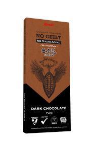 Čokolada Kandit, Pure dark, brez dodanega sladkorja, 80 g