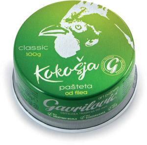 Pašteta Gavrilović Classic, kokošja, 100 g