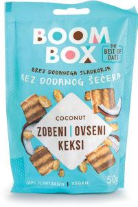 Keksi Boom Box ovseni, kokos, 50 g