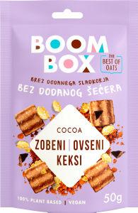 Keksi Boom Box ovseni, kakav, 50 g