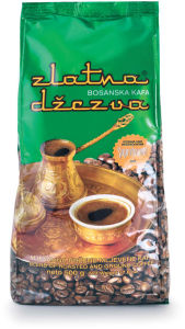 Kava mleta Zlatna džezva, 500g