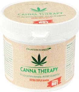 Krema Canna therapy, extra topla, 250ml