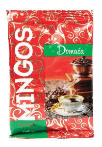 Kava Mingos, domača, močna, 100g