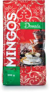 Kava Mingos coffee, domača, močna, 200g