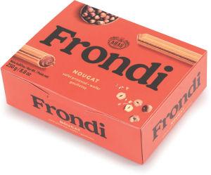 Napolitanke Frondi, maxi, nougat, 250 g