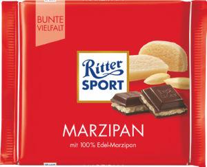 Čokolada Ritter, marcipan, 100g