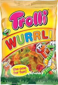 Bonboni Wurrli Trolli, 200g