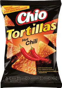 Čips tortilla chilli, koruzni, 125g