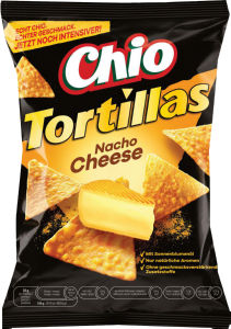 Tortillas Nacho, 125 g