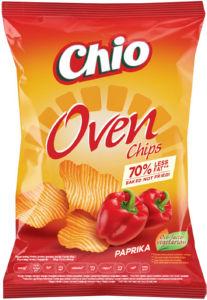 Čips Chio, oven, s papriko, 150 g