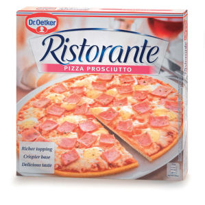 Pizza Ristorante, šunka, 330g