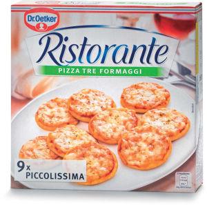 Pizza Ristorante Piccolissima, 3 siri, 216 g