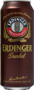 Pivo Erdinger, temno, alk.5,3vol%, 0,5l