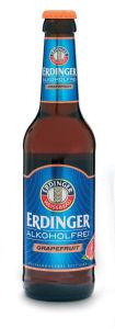 Pivo Erdinger, brezalkoholno, grenivka, 0.33 l