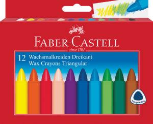 Voščenke Faber Casteli, trioglate, 12/1