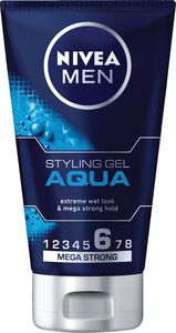 Gel za lase Nivea, hair, aqua, w.look, 150ml