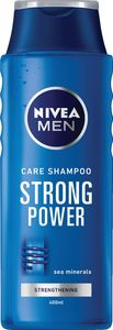 Šampon Nivea, moški, Strong power, 400ml