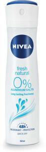 Dezodorant Nivea, žen., Fresh natural, 150ml