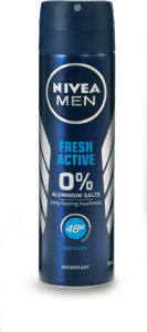 Dezodorant sprey Nivea, men,f.active,150ml