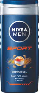 Ge za prhanje Nivea Men Sport, 250ml
