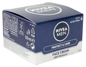 Krema Nivea za obraz, moška, 50ml