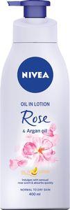 Oljni losjon Nivea, vonj vrtnice z arganovim oljem, 400ml