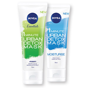 Maska Nivea, Urban skin, 75ml