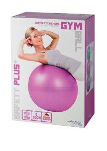 Žoga Safety plus, gimnastična, 65cm