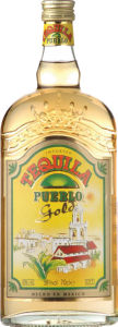 Tequila Pueblo Gold, alk.38vol%, 0,7l