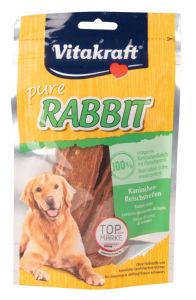Poslastica VK Rabitt za pse, zajec, 80g
