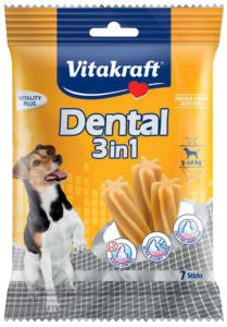 Poslastica Dental, stick, 3v1, small, 7/1