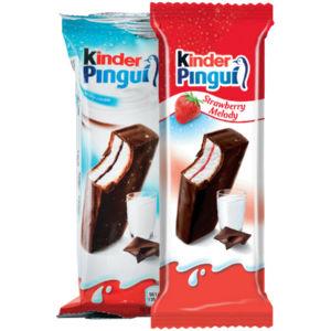 Mlečna rezina Kinder Pingui, 30g